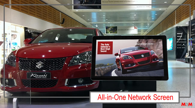 All-in-One Network Screen by Magic Display Mirror