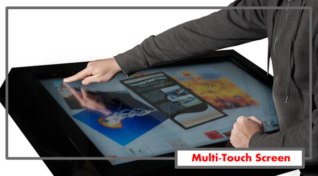 IR Multi Touch Screen Displays by Magic Display Mirror 360