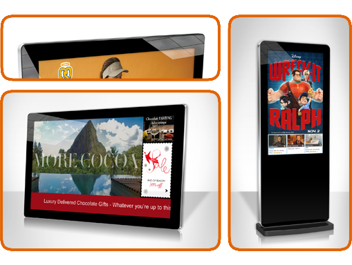 digital-signage-network-screens-wall-mounted-and-freestanding