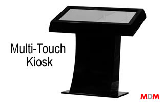 Multi-Touch Kiosk by Magic Display Mirror