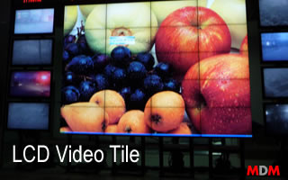 Tiling Video Wall Display by Magic Display Mirror